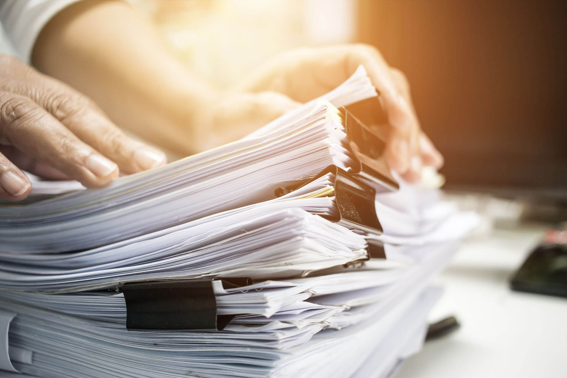 Documents review and verification